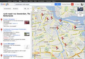 google maps lokale gids vermeldingen voor linkbuilding